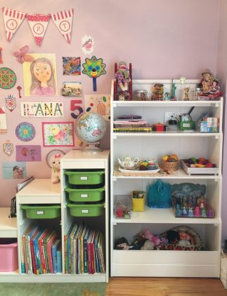 kids room toy storage