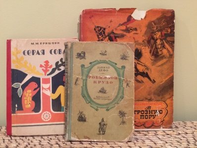 Vintage children's books in russian
