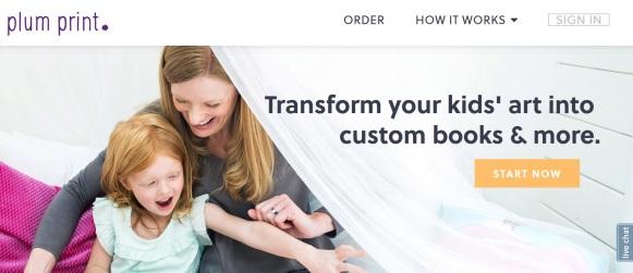 plumprint.com home page