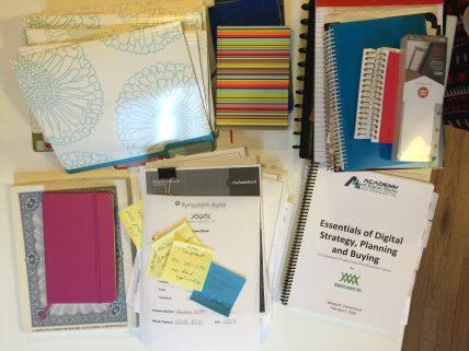 Office Desk Organizing Paper
